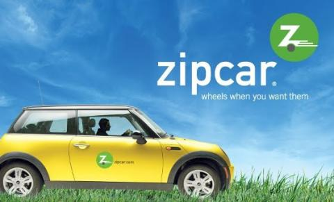 "Zipcar was among the first to pioneer the philosophy of access over ownership with their tagline, ""Wheels when you want them""."