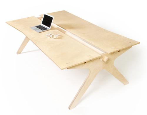 Lean Desk by 00 on OpenDesk.cc