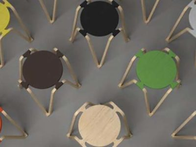 open source furniture | Pod, open source stool, by Samuel Javelle