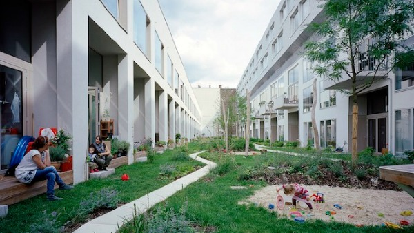 Baugruppen is an example of affordable housing in germany