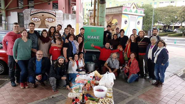 Stone Soup event in Tenerife, Spain