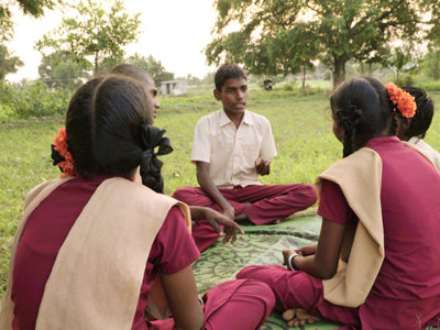 Power to the Children: Shaktivel - Cultural minister | Image provided by Anna Kersting