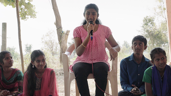 Power to the Children: Swarna Lakshmi - Prime minister | Image provided by Anna Kersting