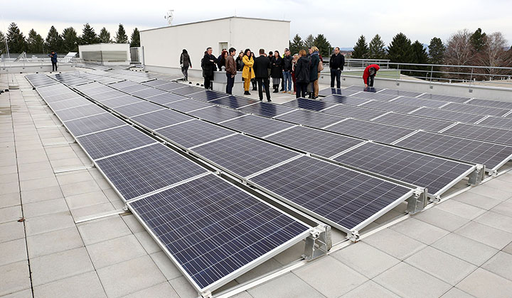 Energy democracy | Photo: Solar roof in the city of Križevci, Croatia, a project developed by Green Energy Cooperative ZEZ