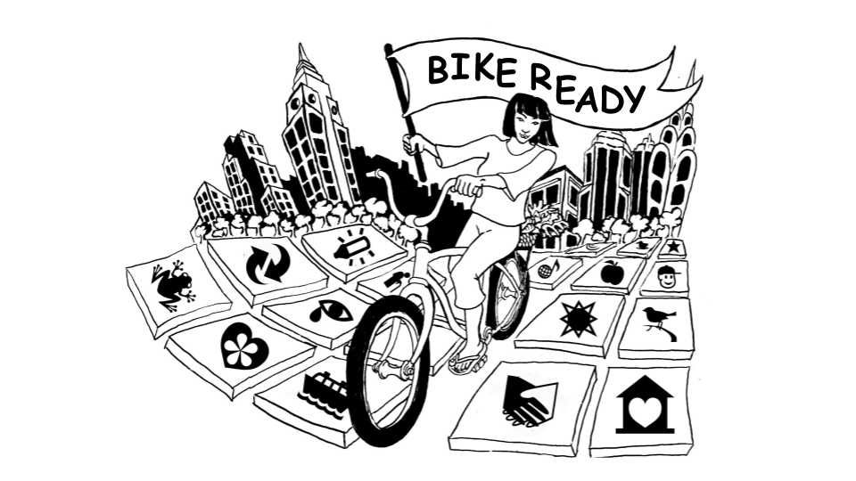 Bike Ready NYC Graphic