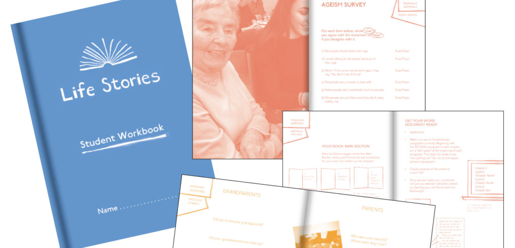 Image screenshot from the Life Stories Project toolkit