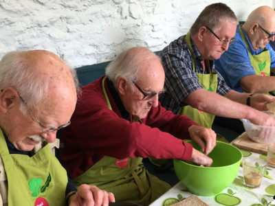 Workshop for older men - Food in Community