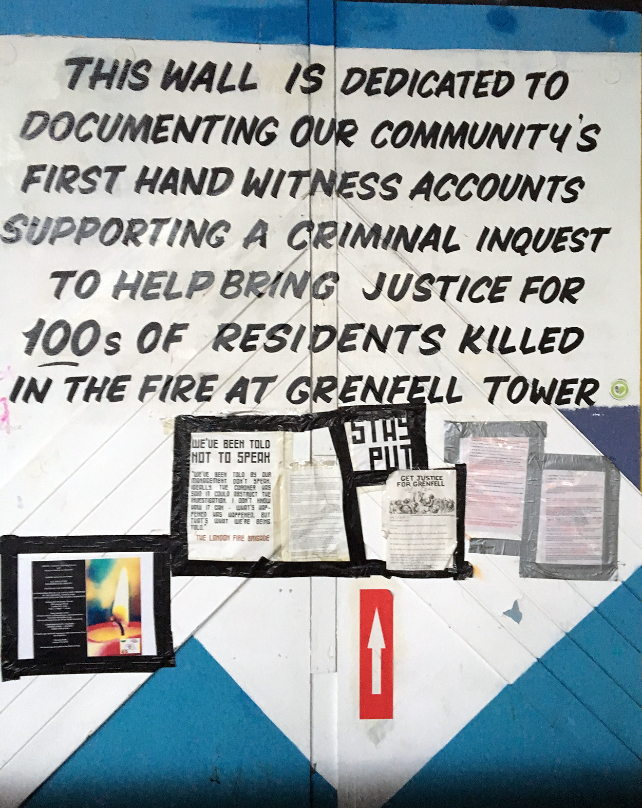Grenfell Tower fire response