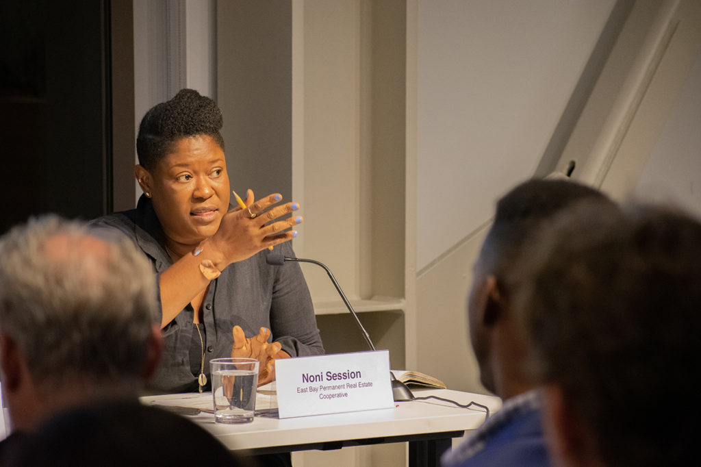 Noni Session; East Bay PREC; Zoning event; affordable housing crisis