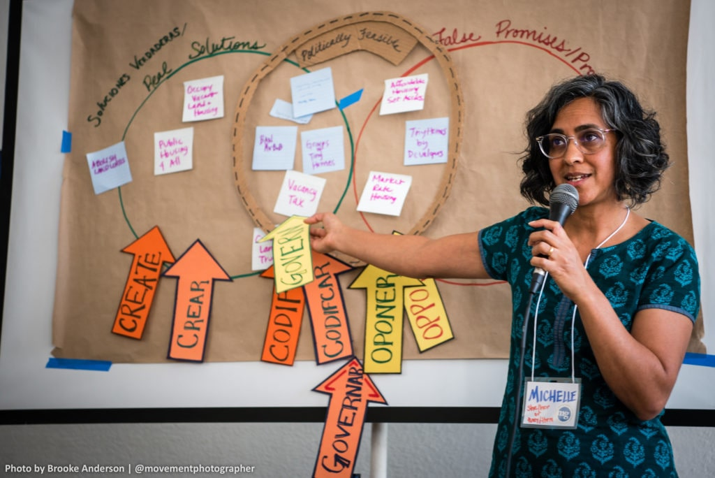 Navigating a Just Transition through COVID-19 and the climate crisis: A Q&A with Michelle Mascarenhas-Swan of Movement Generation Michelle Mascarenhas-Swan