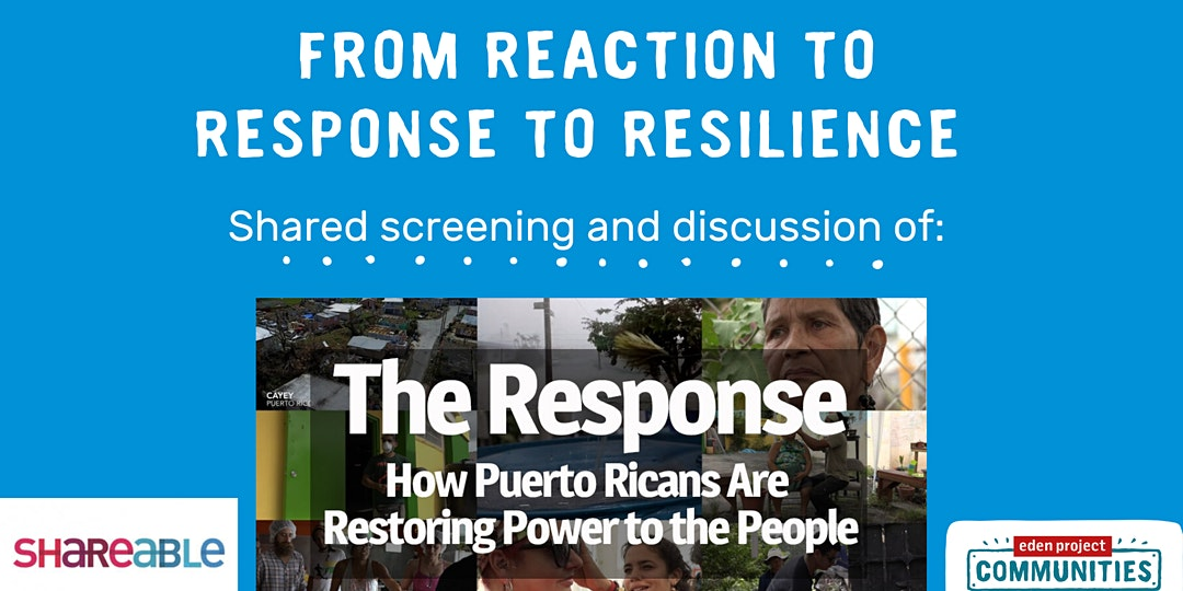 From Reaction to Response to Resilience