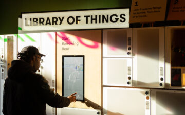 Library of Things: A Cornerstone of the Real Sharing Economy