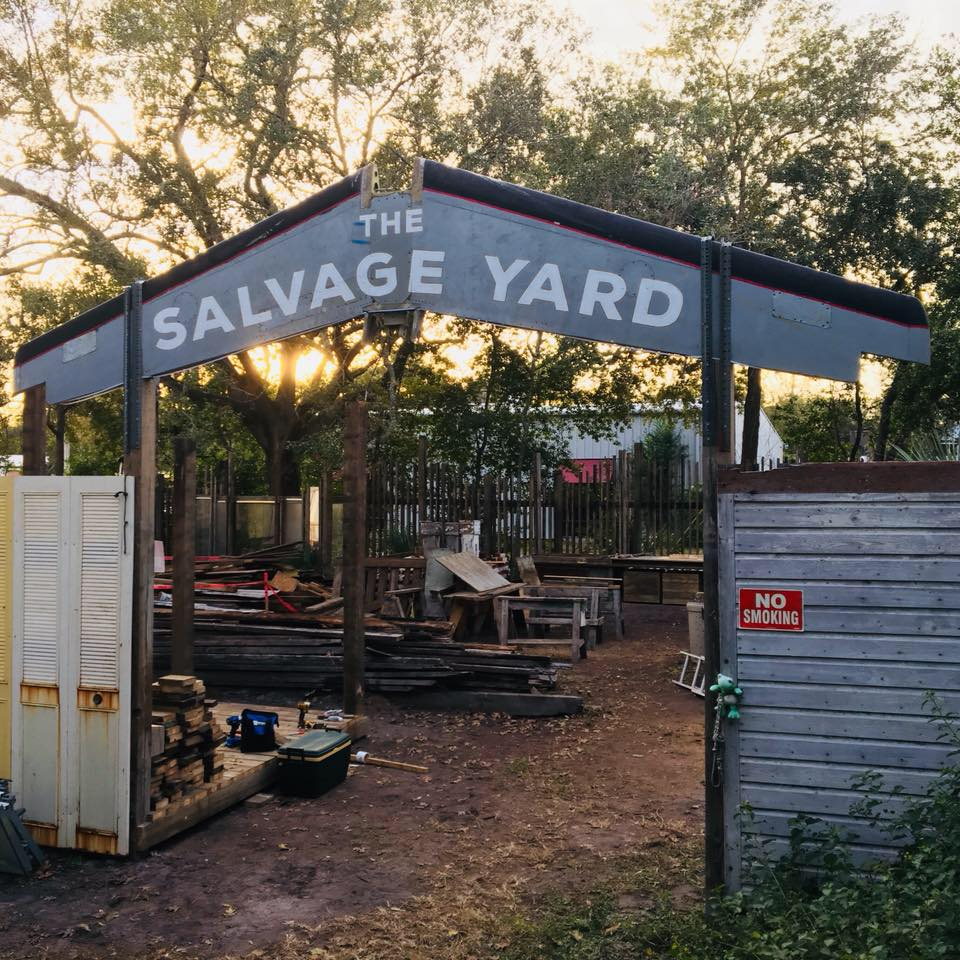 The Salvage Yard at The Repurpose Project. Credit: The Repurpose Project