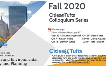 Cities@Tufts Fall Series