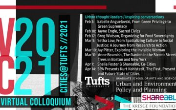 Cities@Tufts Banner
