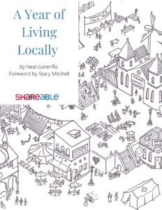 """A Year of Living Locally"" book cover"
