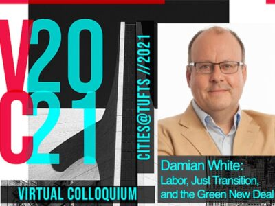 Labor, Just Transition, and the Green New Deal with Damian White