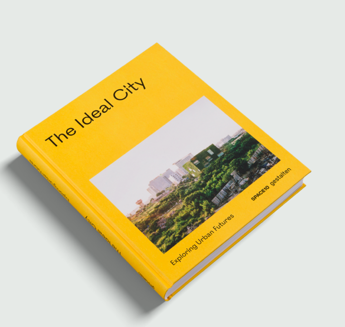 """Cover of """"The Ideal City"""" book"""