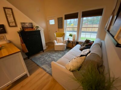 photo of living room in a tiny house