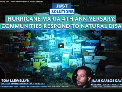 Hurricane Maria 4th Anniversary: How Communities Respond to Natural Disasters