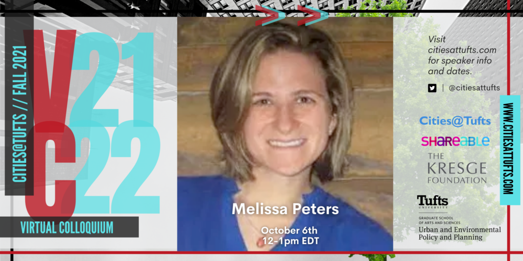 Melissa Peters, Director of Community Planning at City of Cambridge