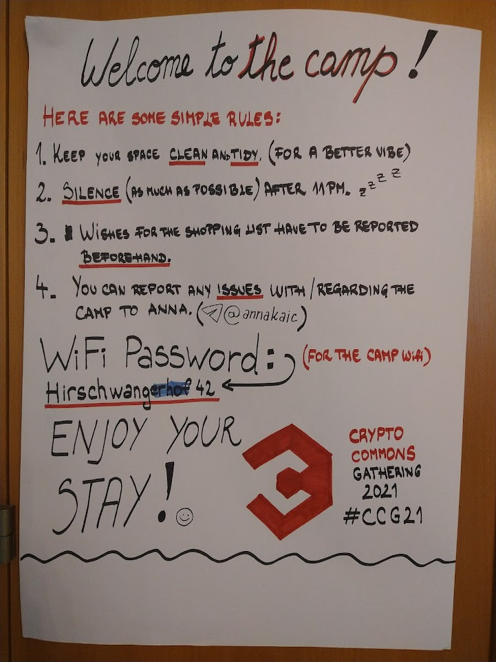 crypto commons room rules