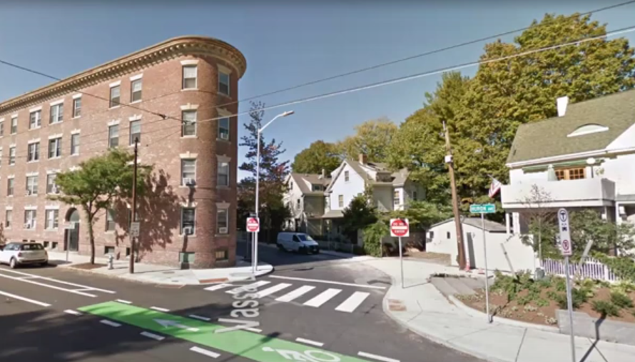 Planning Huron Ave at Vassar Lane in Cambridge, MA is an example of an area with different densities together in close proximity.