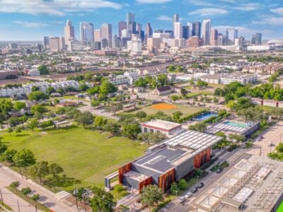 landscape agency: Emancipation Park in Houston, TX was a primitive example of Black communities pooling resources and cooperatively owning a shared public space.